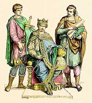 Одежда средневековой франции
