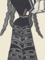 Критская женщина с сосудом